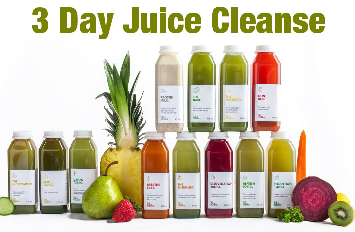 Amazing Results Achieved From A 3 Day Juice Cleanse Diet