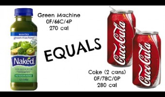 equals & alternatives Episode 47: Naked Juice Green Machine and Two Cans of Coke