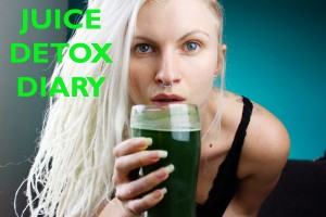 5 day detox, water and juice fasting diary
